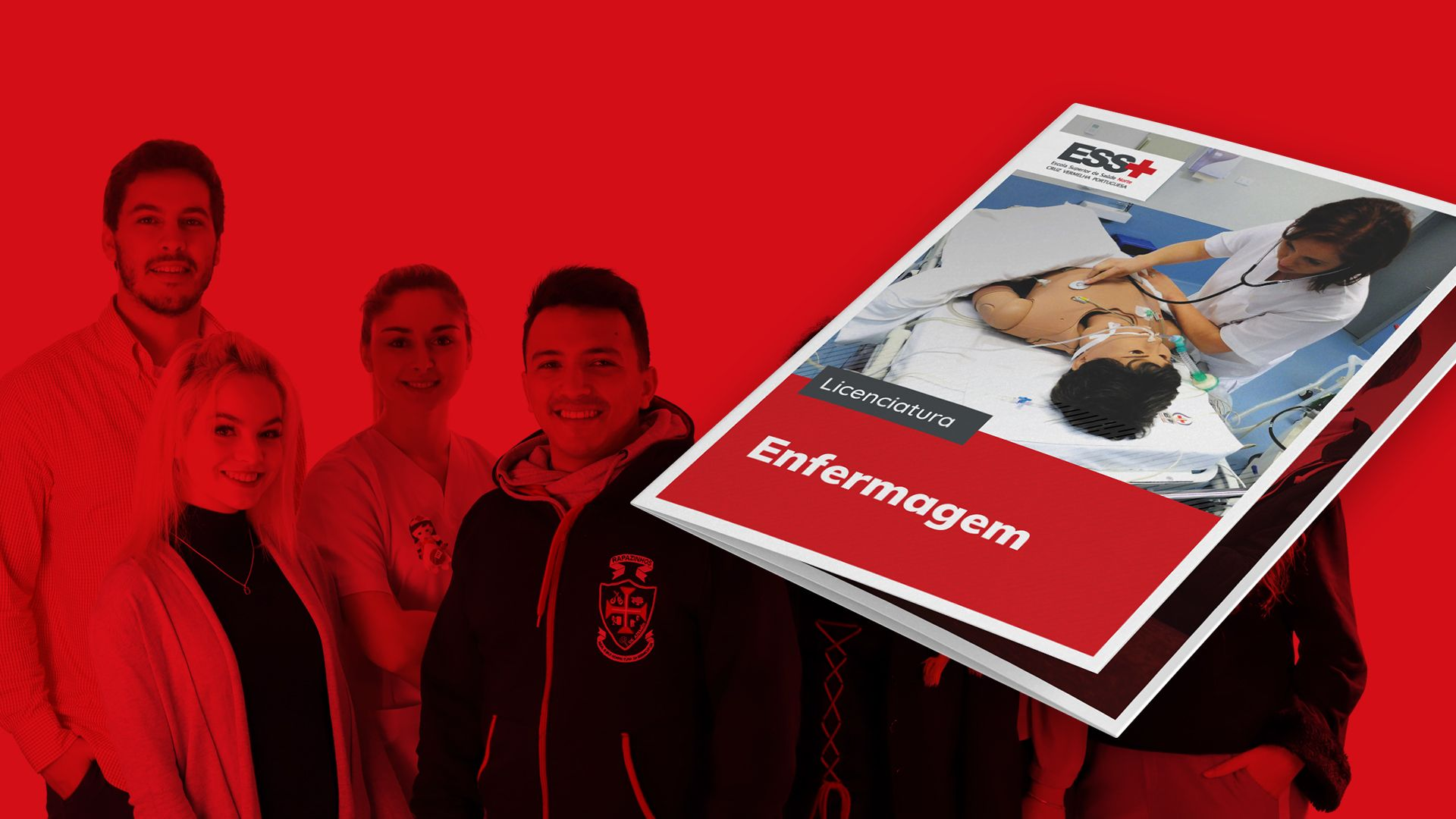 Escola Superior de Saúde Norte Cruz Vermelha Portuguesa - Design